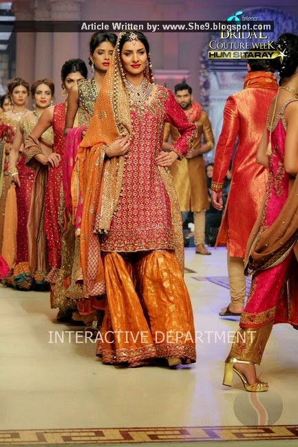 Umsha by Uzma Babar Bridal Wear