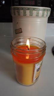 Pineapple Mango PRESERVE JAR 6 oz candle burn review