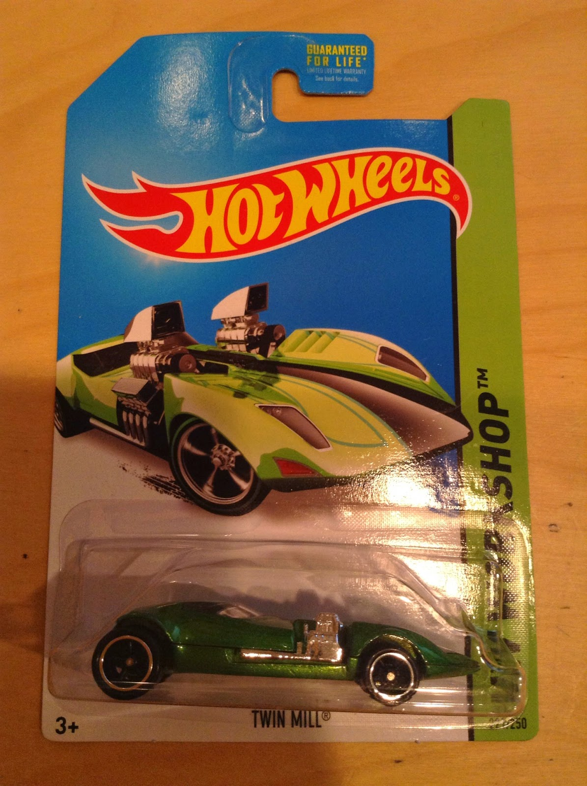 Julian's Hot Wheels Blog: Twin Mill - Super Treasure Hunt