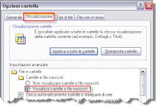 Visualizzare Cartelle E File Nascosti Windows 7