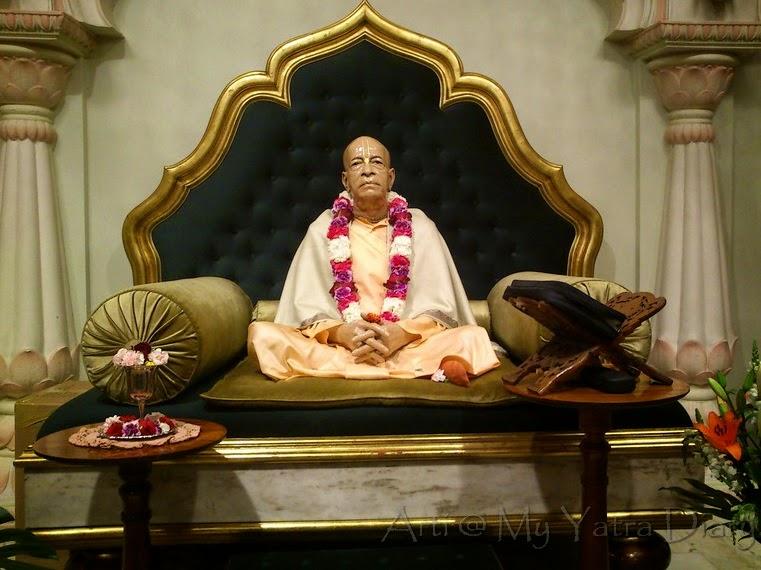 Srila Swami Prabhupada, ISKCON Temple in Melbourne, Australia