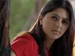 Bhumika Chawla in her telegu movie latest wallpapers