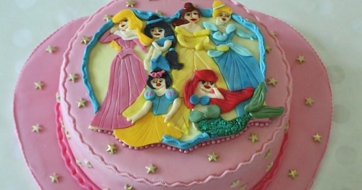 Bella Cake Art Facebook : -: DISNEY PRINCESS CAKE