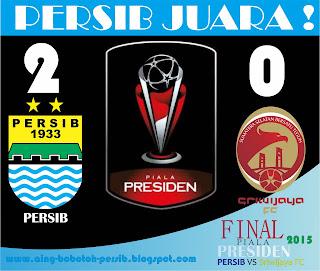 Persib juara piala presiden 2015