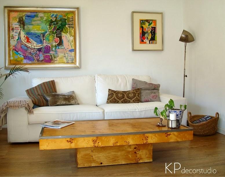 Comprar mesa de centro vintage para café con forma rectangular de madera raíz de chopo