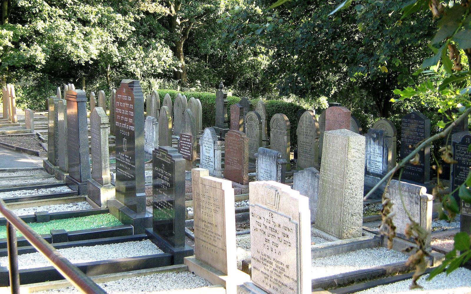 North Staffordshire Jewish cemetery