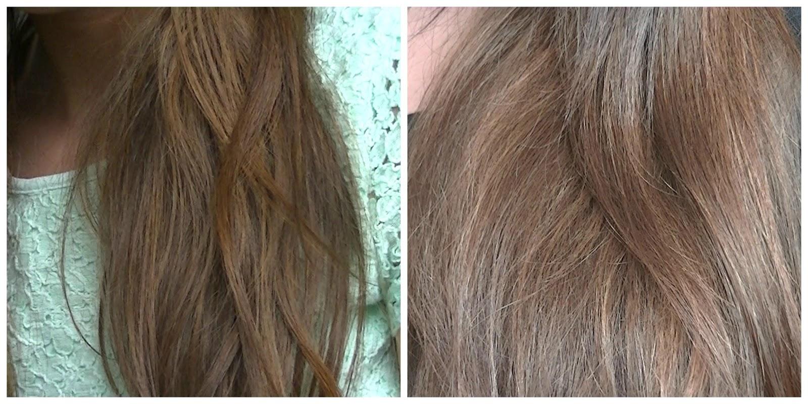 Les huiles pour les cheveux de laction