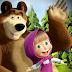 Ausmalbilder Mascha und Der Bär