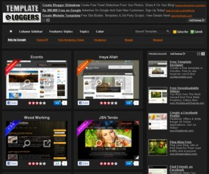 Template to Blogspot