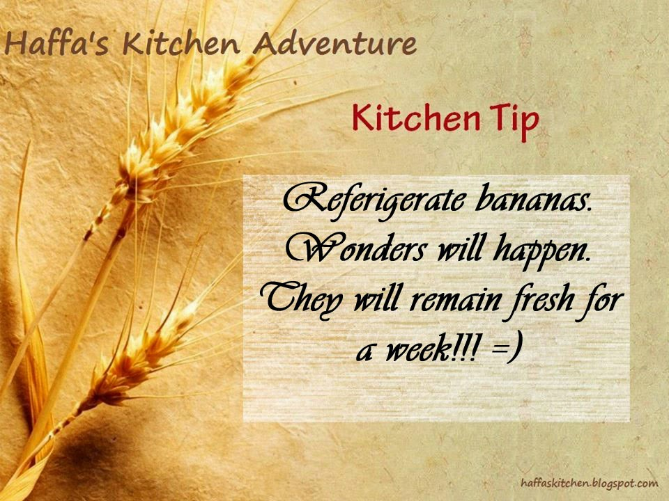 How to keep bananas fresh for longer|Reserve banana|Store bananas| Kitchen tip