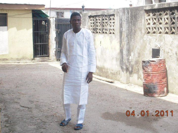 Nigeria 2-piece African Kaftan (guinea brocade)