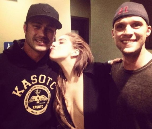 Is lady gaga still dating the guy from chicago fire