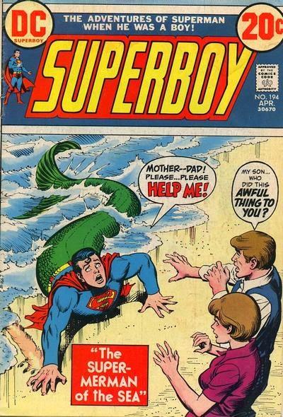 Superboy #194, Super Merboy