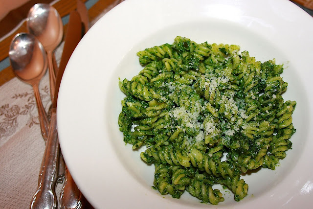 Spinach Ricotta Pesto