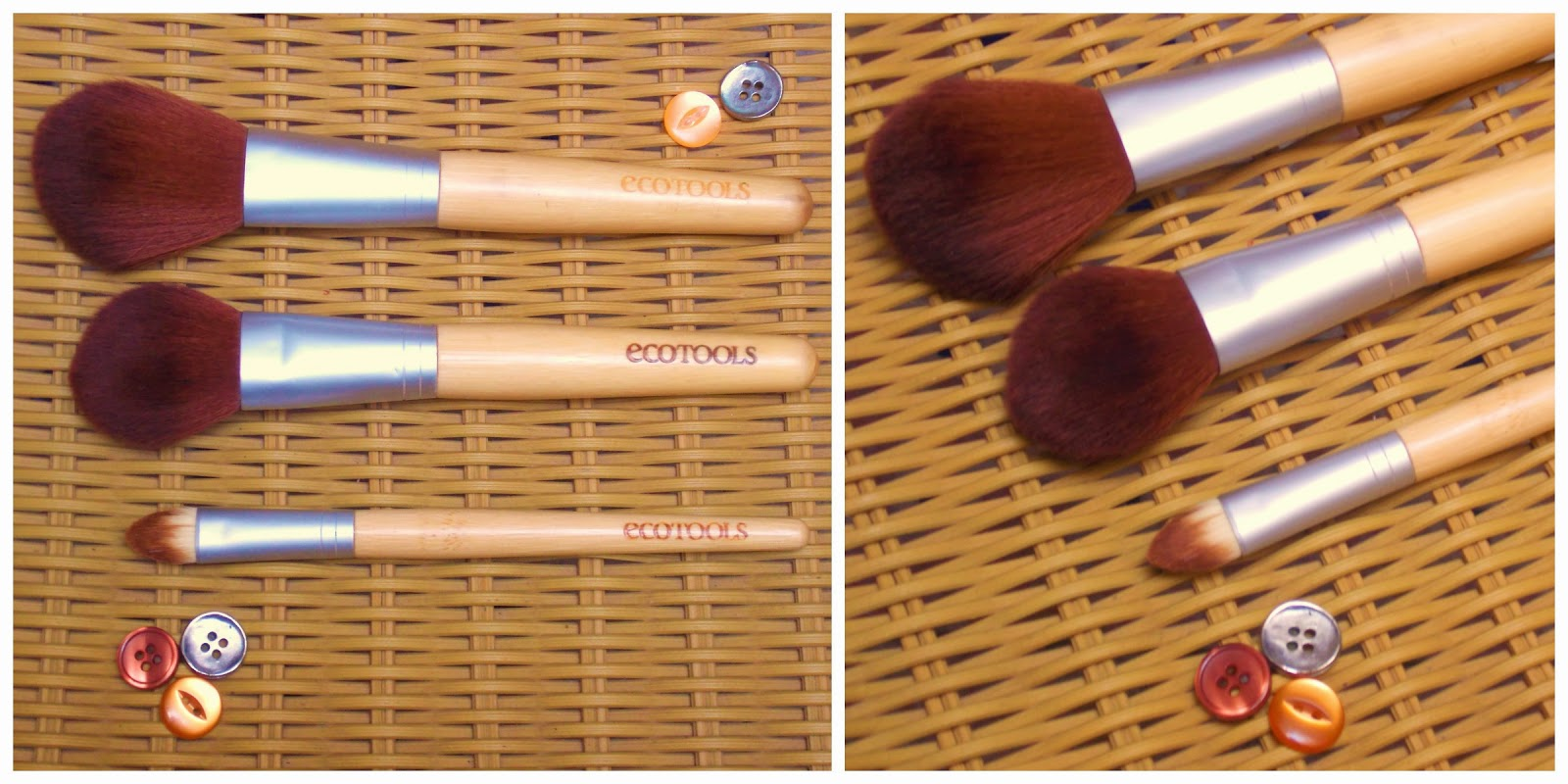 Beauty, Cruelty Free Beauty, Ecotools, make up brush collection, make up brushes, my pure, Cruelty Free Beauty, Make Up Brushes