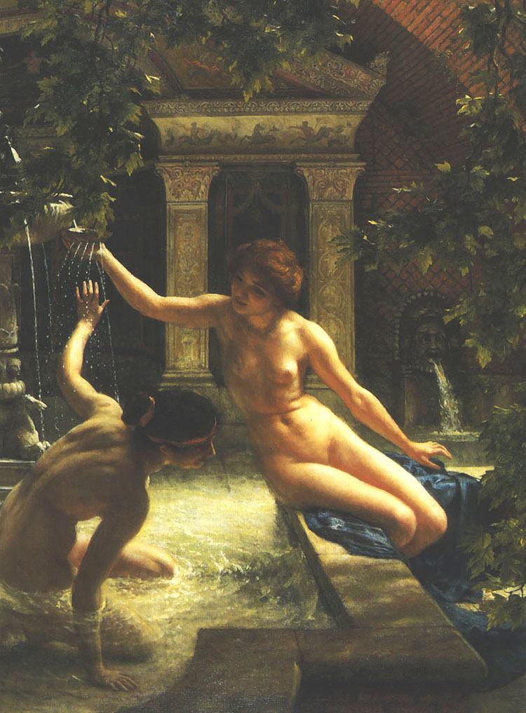 sir edward john poynter water babies