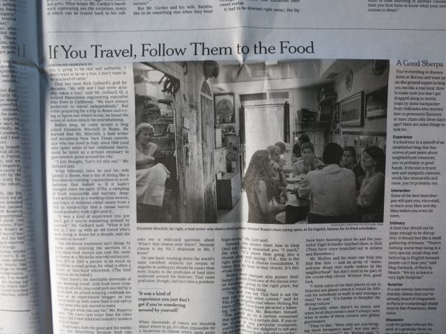 The New York Times, Wednesday July 31 2012, Dining Section, Page 5