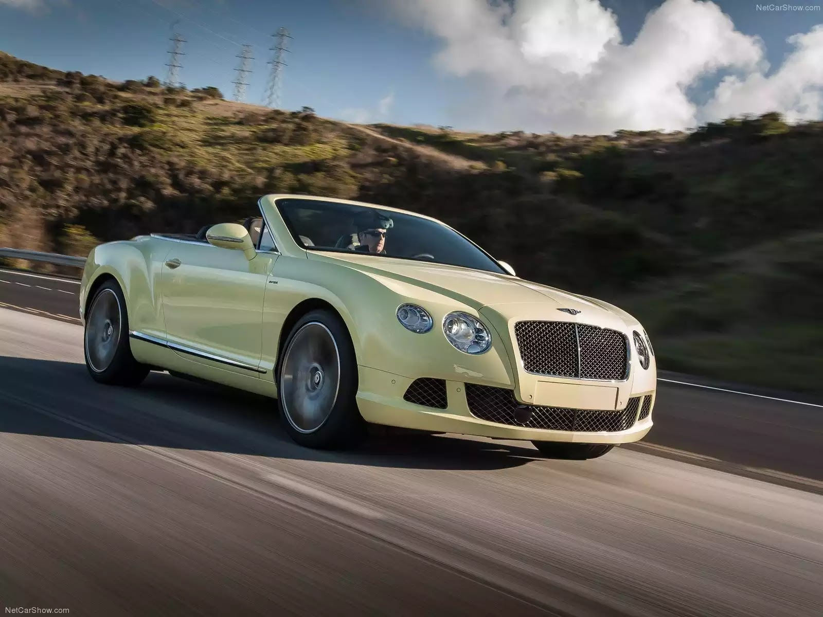Hình ảnh xe ô tô Bentley Continental GT Speed Convertible 2014 & nội ngoại thất