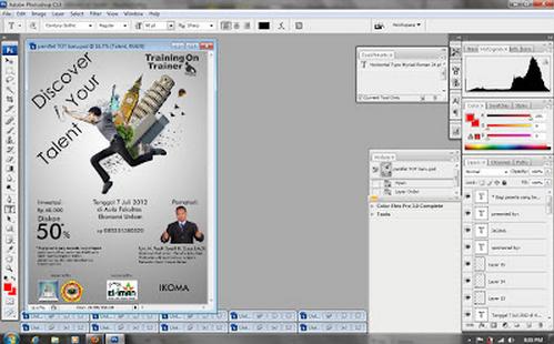 Cara Membuat Desain Pamflet dengan Photoshop