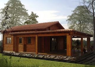 Progetti di case in legno casa 51 mq portico 37 mq for Case in legno prezzi romania