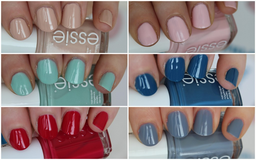 Essie Spring 2014 collection - review and video! | Lovely Girlie ...