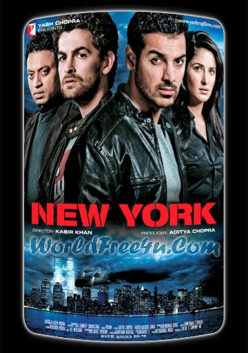 Poster Of New York (2009) Full Hindi Movie Free Download Watch Online At worldfree4u.com