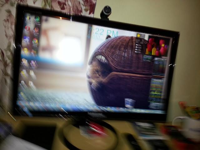fix blurry monitor