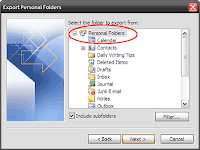 How to Manually Back Up your Emails in Microsoft Outlook 2007