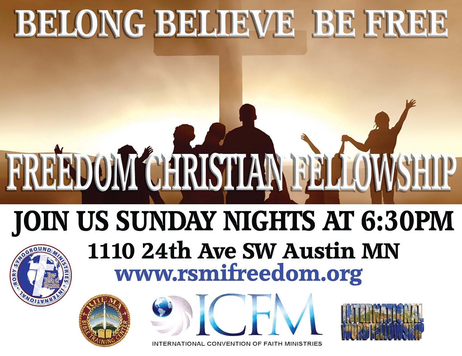 FREEDOM CHRISTIAN FELLOWSHIP