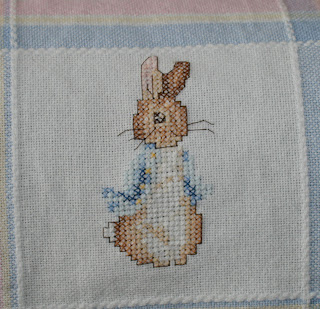 Knitting Pattern For Peter Rabbit Blanket : Cosy Cross Stitch@78: Baby Blanket