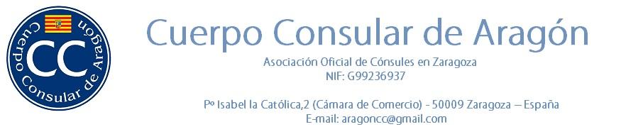 CUERPO CONSULAR DE ARAGÓN