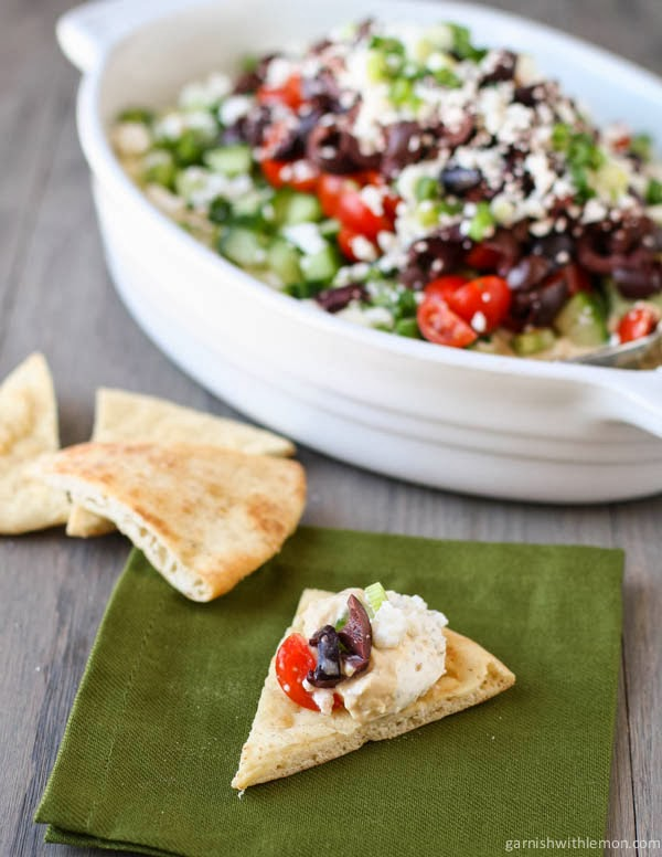 Layered Greek Dip Recipe
