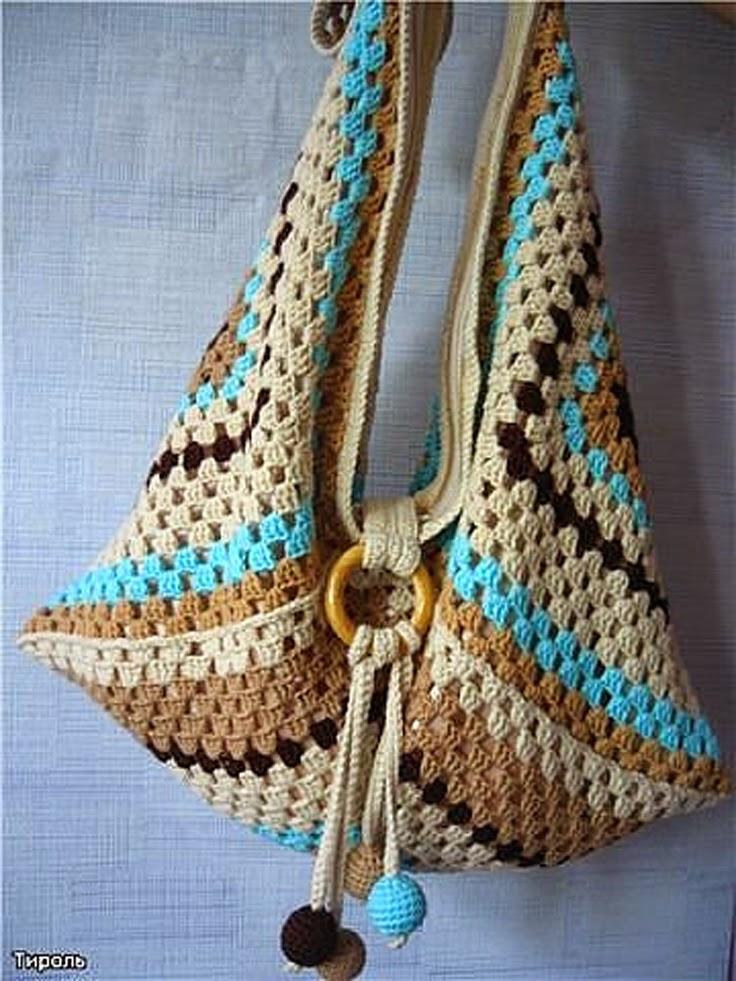 Crochet Purse Patterns Blog : La Magia del Crochet: BOLSOS A CROCHET
