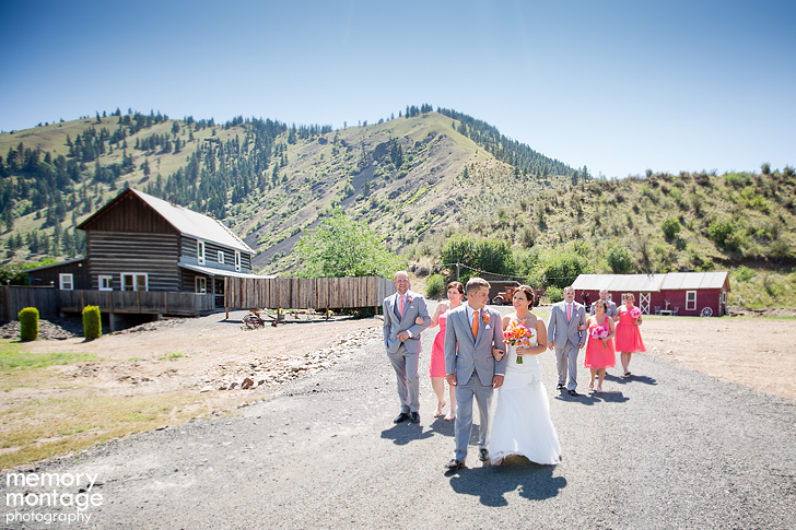 American Homestead Wedding Naches WA