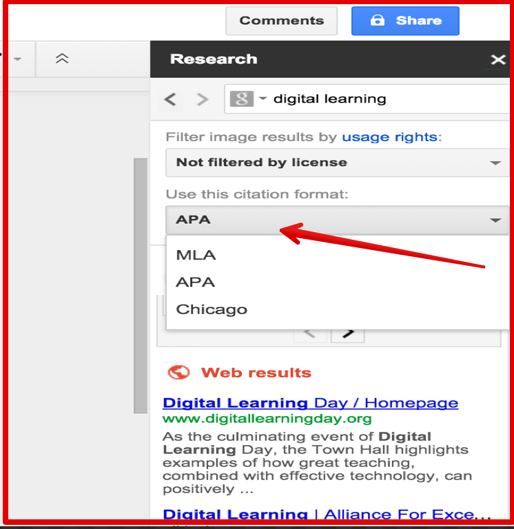 how to add citations to docs