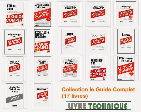 Collection le Guide Complet (17 livres)
