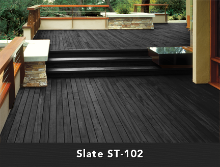 Wink interiors september 2012 Best black exterior wood stain