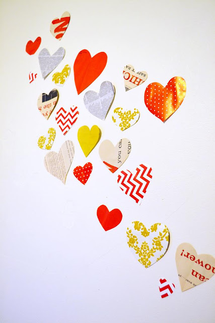decorations, diy, hearts