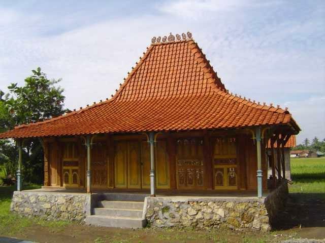 Gambar Rumah Tradisional Jawa Tengah