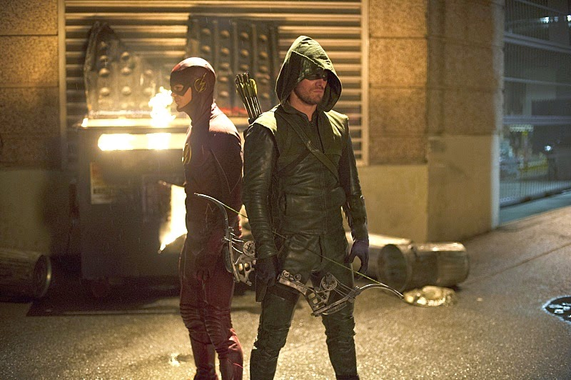 ARROW E THE FLASH, I DUE SUPER-EROI IN UN EPICO CROSSOVER DELLA CW