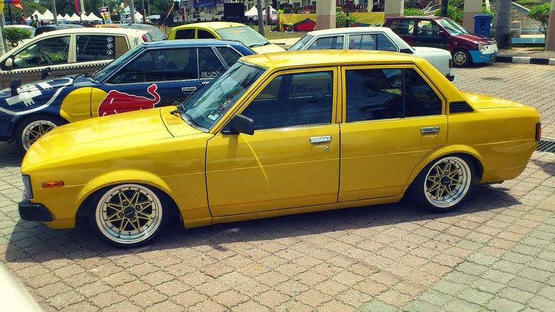 modifikasi mobil sedan toyota corolla dx ceper