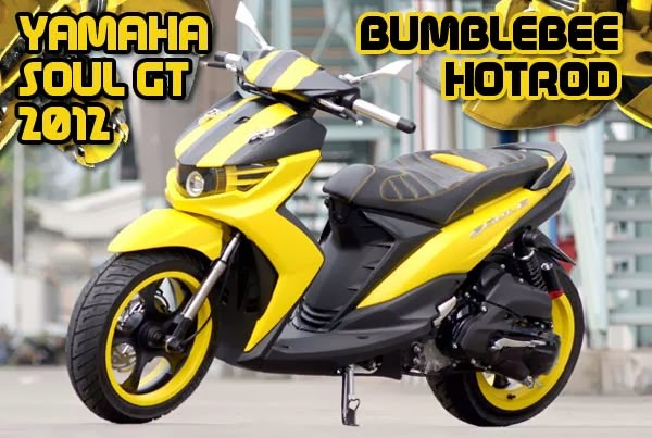 Modifikasi Yamaha Shoul GT