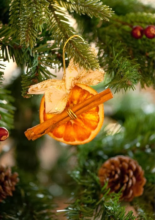Cinnamon And Orange Christmas Decorations
