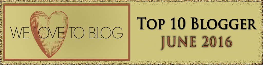 Top Blogger June 2016