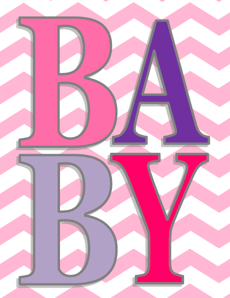 One Willis Family Baby girl room printables
