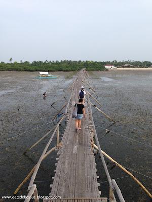 Olango Island in Cebu travel diary marine sanctuary board walk 3