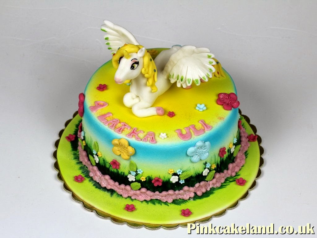 Unicorn Birthday Cake London