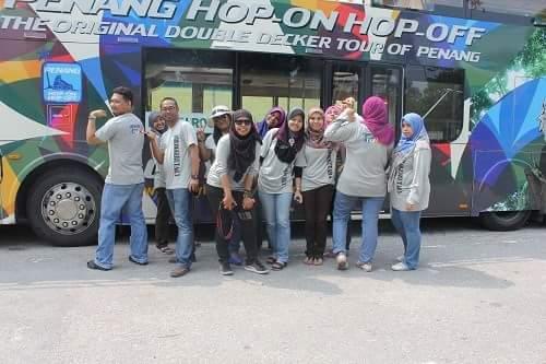tiket percuma, giveaway penang hoho, blogger utara bersama bas HOHO,