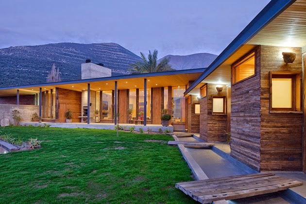 Casa Corcolenda diseñada por los arquitectos Manuel Dorr y Pablo Schmidt 4