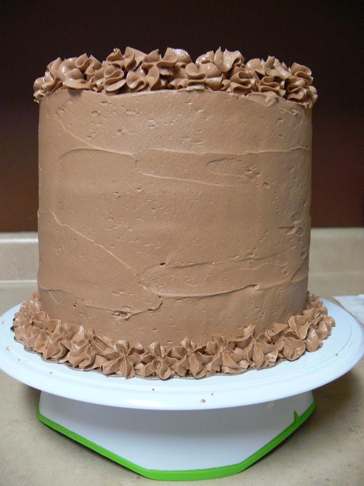 Ultimately Chocolate CAKES EightLayer Nutella Buttercream Cake